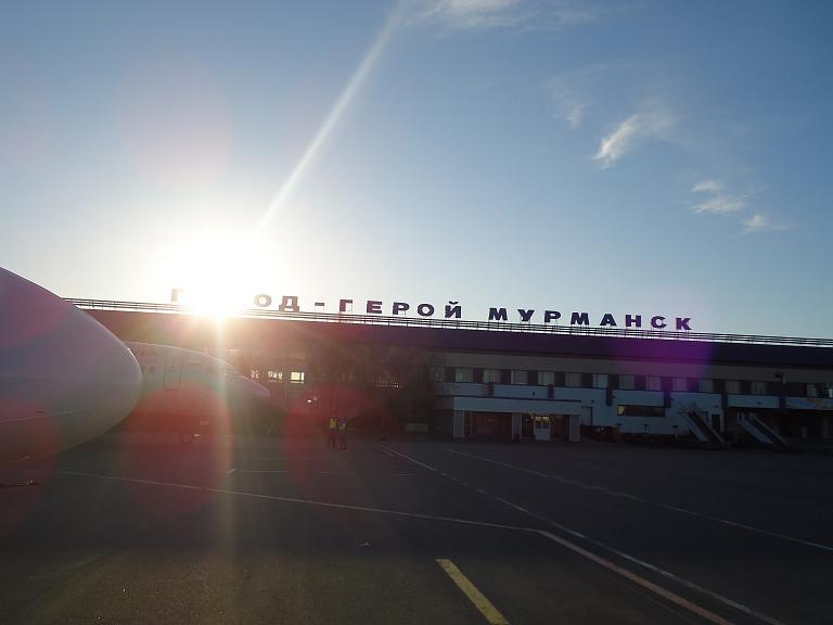 Фотообзор аэропорта Мурманск