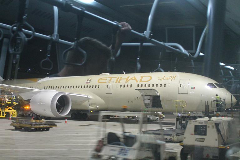 Из Мале в Абу-Даби на Boeing-787
