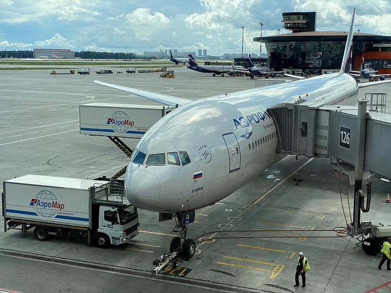 «АЭРОФЛОТ» МОСКВА (SVO) - СИМФЕРОПОЛЬ (SIP)  на Боинге 777-300 «В.Чуйков» (бизнес-класс)