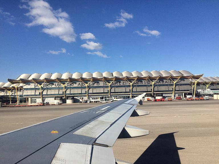 Перелёт Москва - Мадрид с Iberia