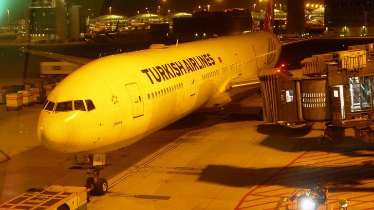 Путешествие в дальний край. Этап 7: «Турецкие авиалинии»  Гонконг – Стамбул  на Боинг-777-300