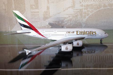 Airbus A380-800 Emirates. 1/400. Gemini Jets