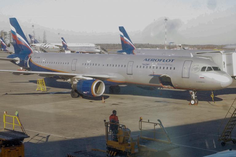 Москва - Мюнхен с Аэрофлотом / Moskau - München mit Aeroflot