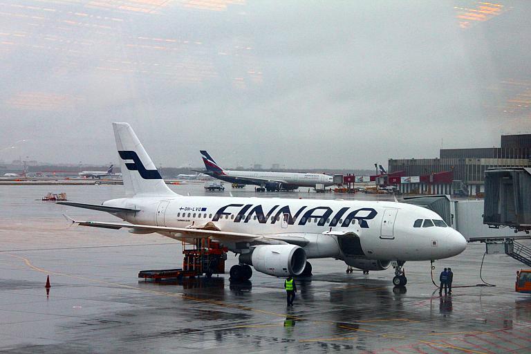 Новогоднее путешествие в Финляндию. Часть 1, Москва(SVO)-Хельсинки(HEL) с Finnair