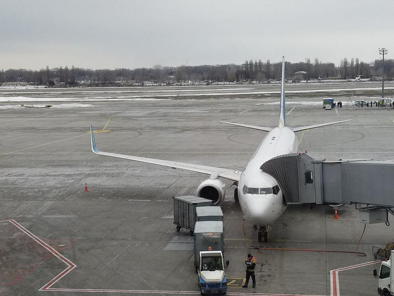 Киев - Прага с МАУ на Б737-84R(WL) + сюрприз!