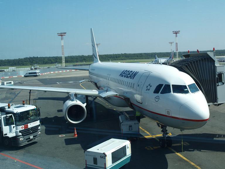 Ираклион(HER) - Домодедово(DME) с Aegean Airlines, возвращение с солнечного острова КРИТ