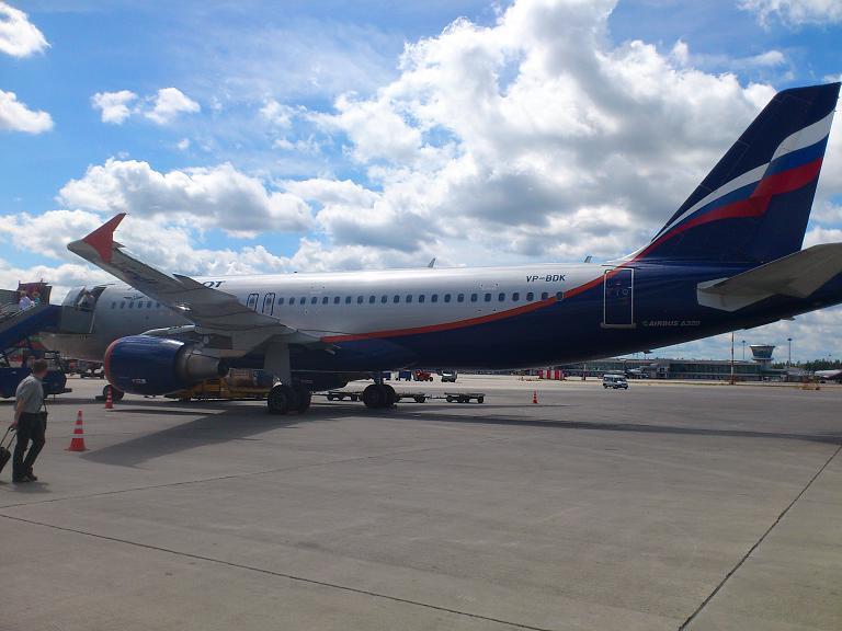 Аэрофлот: Иркутск - Москва-Шереметьево