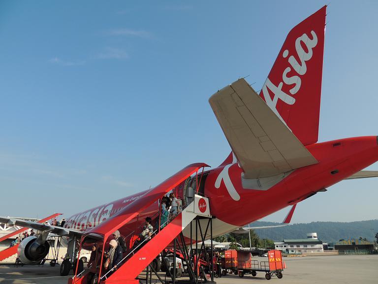 Куала-Лумпур - Лангкави c Air Asia