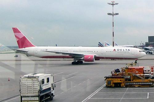 Москва-Нью-Йорк. Delta AirLines.