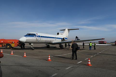 Фотообзор полета на самолете Яковлев Як-40