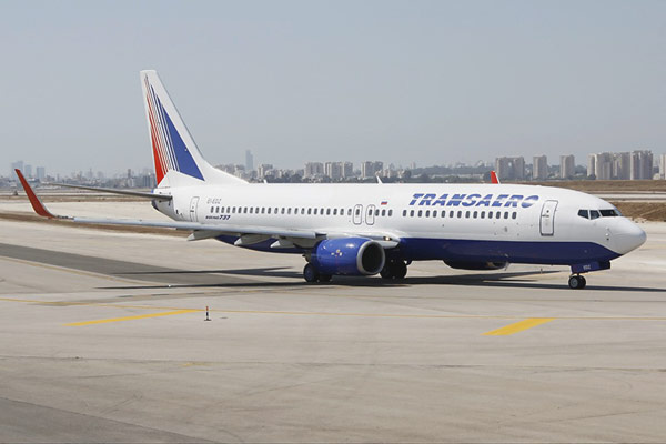 Transaero Flight Report