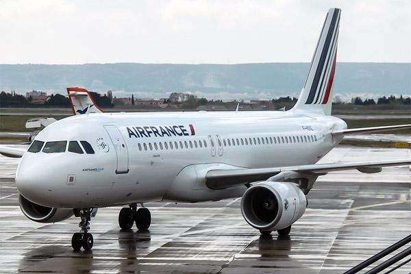 Air France Марсель-Москва