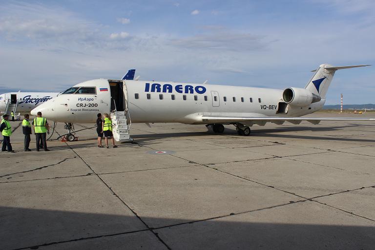 Благовещенск (Игнатьево - BQS) - Чита (Кадала - HTA) с Ираэро на CRJ-200