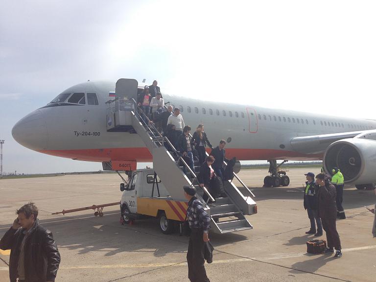 Москва-Краснодар, а/к Vim Airlines в партнерстве с Red Wings