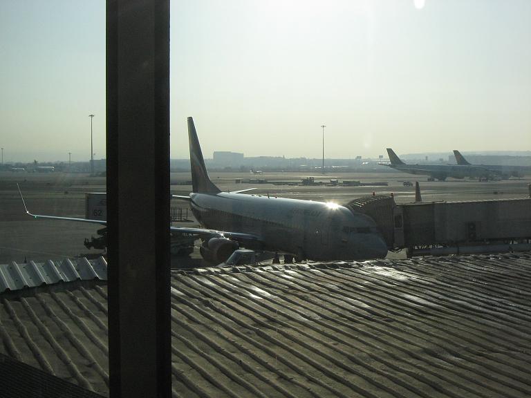 Мадрид-Москва с Аэрофлотом