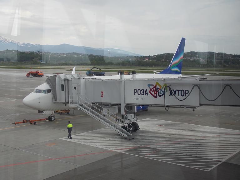 Рейс R3 474 Сочи (AER) - Москва (VKO) на Boeing 737-800 Split Scimitar Winglets авиакомпании «Якутия»