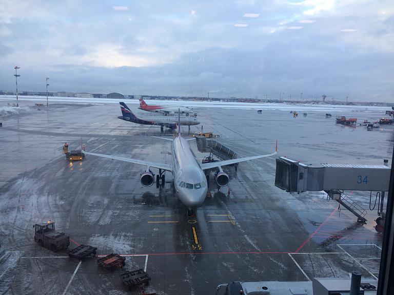 Новогодние каникулы. Москва Шереметьево (SVO) - Прага (PRG) с Aeroflot'ом
