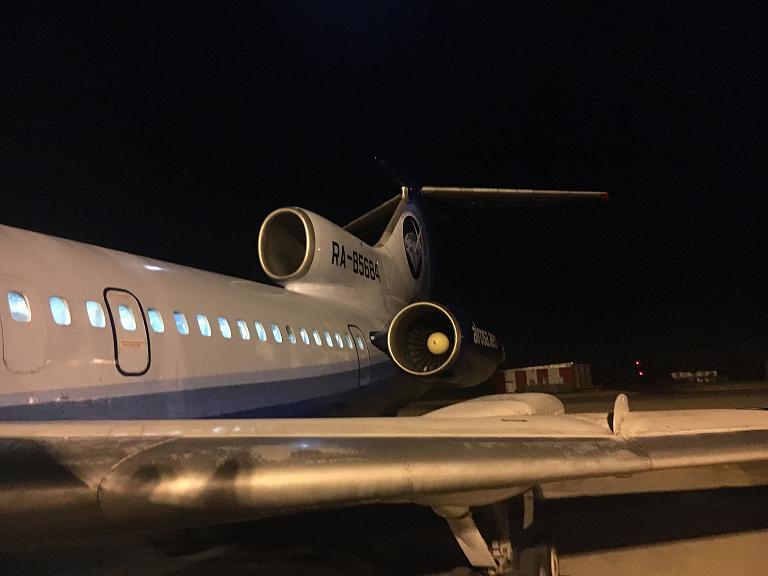 Фотообзор полета на самолете Туполев Ту-154