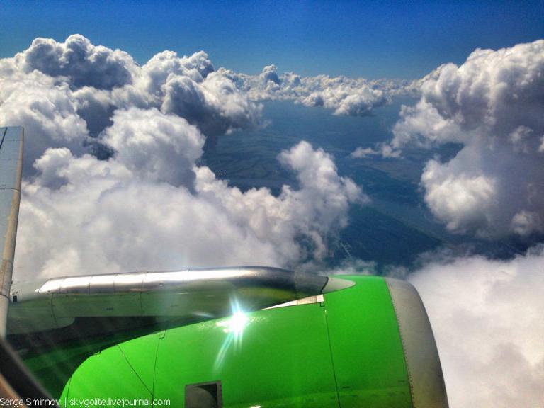 Полет из Сочи в Пермь c Aeroflot и S7 и небесная еда.