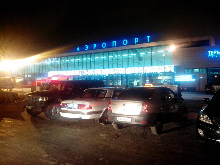 Омск - Санкт-Петербург. АК Россия на А319 EI-ETO