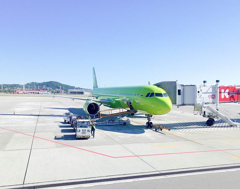 Москва - Сочи, S7 (Сибирь), Airbus A321-271N, VQ-BGU