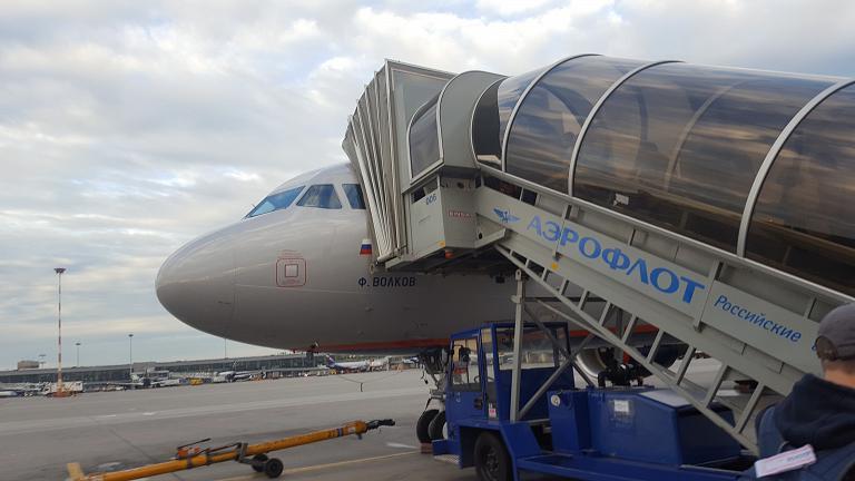 Москва - Новосибирск с Аэрофлотом