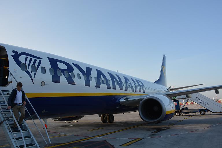 Красивый полет с Ryanair
