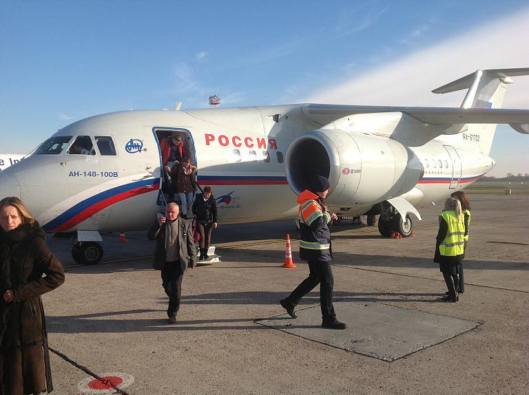 Перелет с авиакомпанией Россия из Питера в Киев