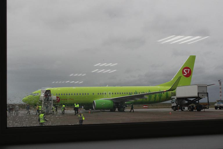 Летний отпуск. Часть 8 - Москва (Домодедово - DME) - Чита (Кадала - HTA) с S7 Airlines на B-737-800 (бизнес-класс)