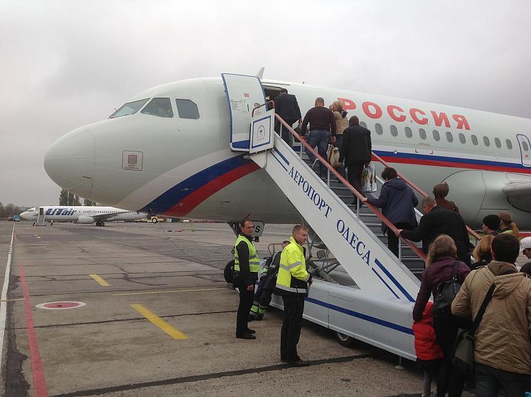 Фотообзор аэропорта Одесса