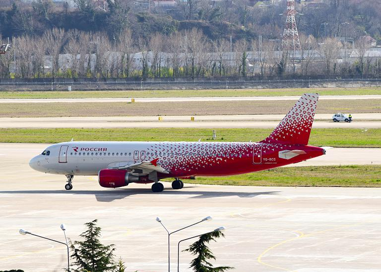 Сочи - Санкт-Петербург, Россия, Airbus A320-214, VQ-BCG