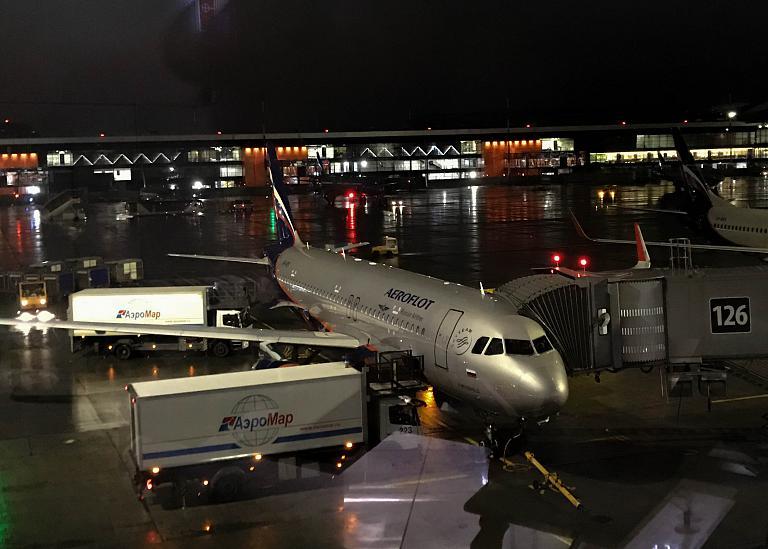 Шереметьево (B)-Тюмень (Рощино) с Аэрофлотом на A320