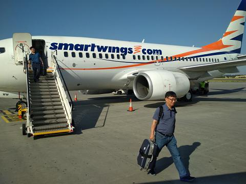 Фотообзор авиакомпании Смарт Вингз (Smart Wings)