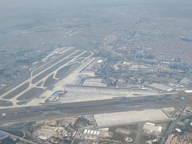 Аэро-фотоотчет аэровокзала Стамбула. OLD IST.
