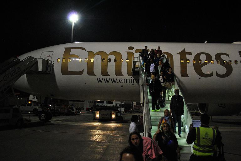 С Emirates в Страну Улыбок. Часть 1. DME-DXB на Boeing 777-300ER A6-EBW