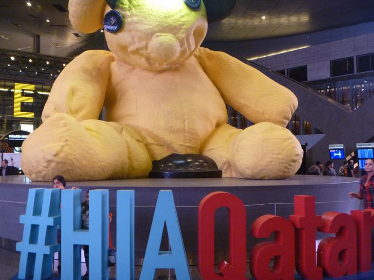 Из Европы в Азию и обратно. Часть 3. Доха - Хошимин на Airbus A330-300 Qatar Airways.