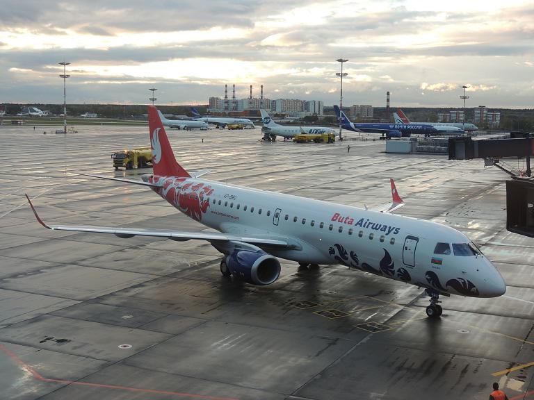 Фотообзор авиакомпании Бута Эйрвэйз (Buta Airways)