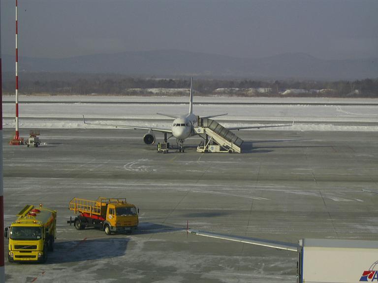 Владивосток-Хабаровск. Аэрофлот(Владивосток-Авиа)  A320.