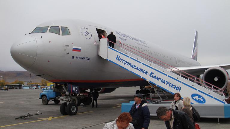 Немного ностальгии.. ) Или Шереметьево-Петропавловск-Камчатский на Боинге-767-300 Аэрофлота