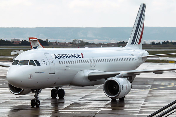Air France Flight Report