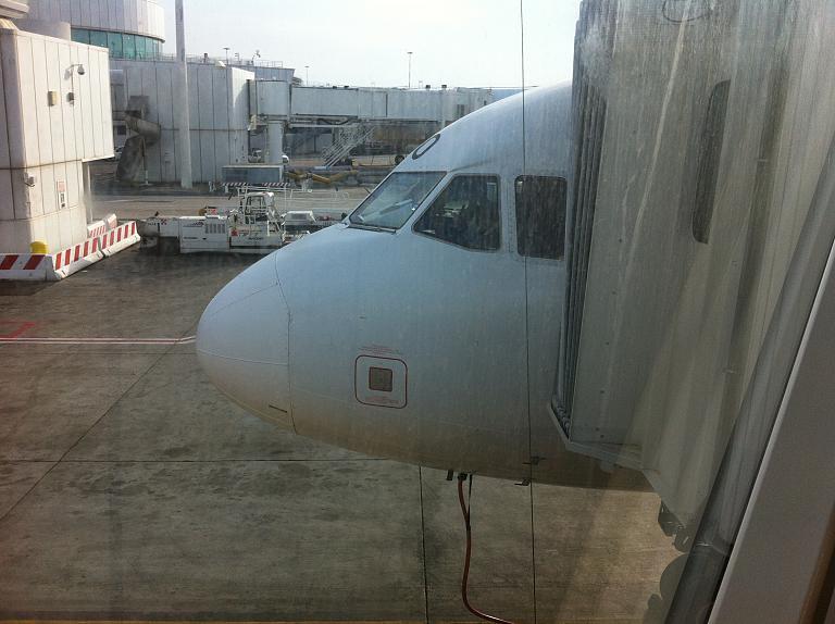 Перелет из Москвы во Флоренцию: Часть первая. Москва-Рим с Alitalia