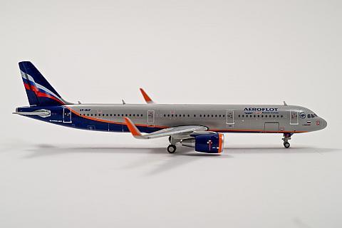 GeminiJets: Airbus A321 Аэрофлота в масштабе 1:400