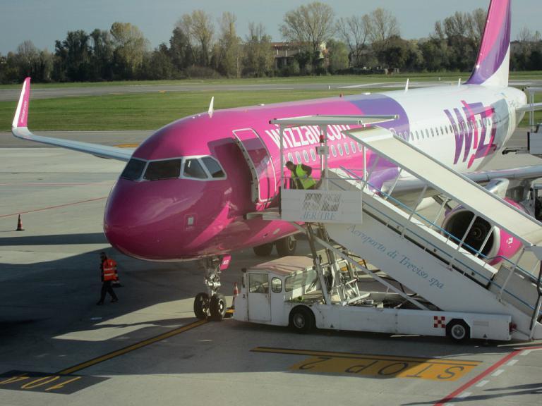 И снова WizzAir Ukraine - Киев (Жуляны) - Венеция (Тревизо) - Киев (Жуляны)