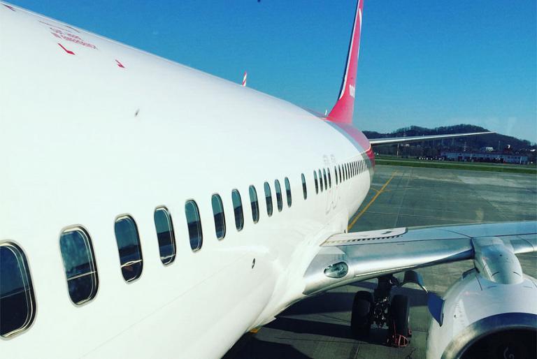 Сочи(AER)-Уфа(UFA) с Икаром. Встреча с президентским самолетом.