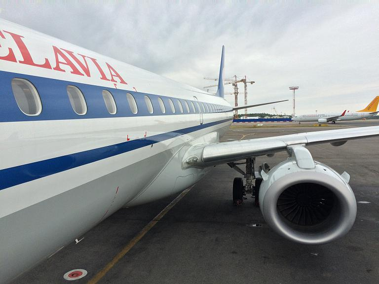 Путешествие в Одессу! Часть 1: Москва (DME) - Минск (MSQ) на Embraer E195LR Belavia.