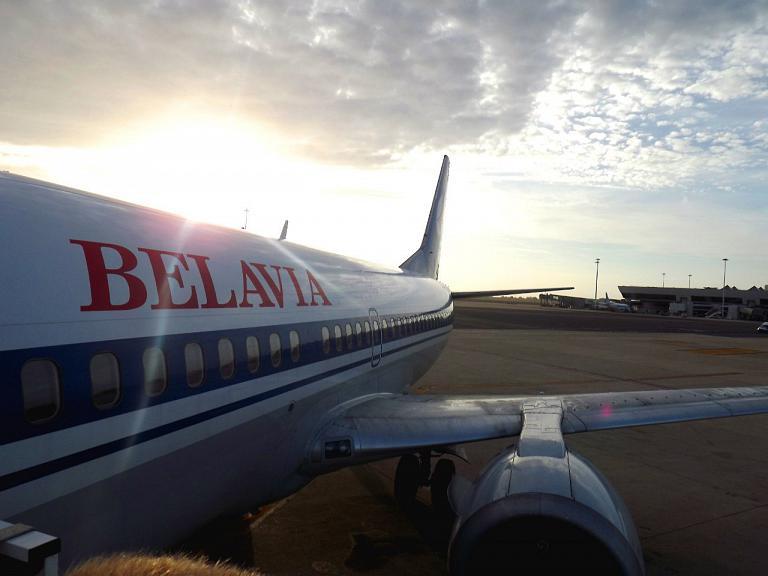 Рейс B20890 чартерный, Belavia 737-300 EW-254PA Рим-Минск 2