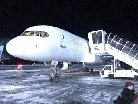 Фотообзор полета на самолете Boeing 757-200