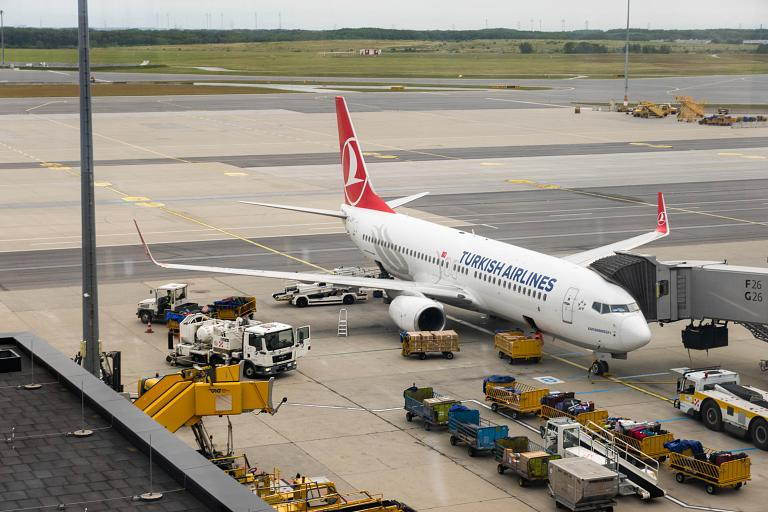 Widen Your World. Вена (VIE-3) - Стамбул (IST) TK1884 на Б737-800 Turkish Airlines