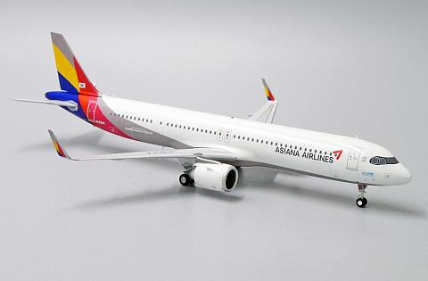 Airbus A321neo Asiana Airlines в масштабе 1:200 от JC Wings