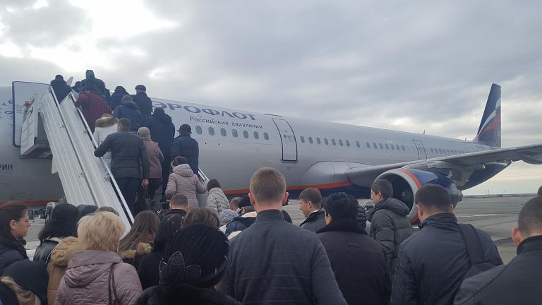 Симферополь - Москва. Аэрофлот Airbus A321 (VQ-BEA)